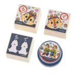 DSJ CHIP AND DALE Japanese sweets Stamp Set