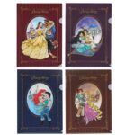 TDR Princess A4 Clear Files Set