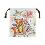 TDR Zootopia 5th Anniversary Drawstring Pouch