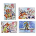 TDR Zootopia 5th Anniversary Clear File Set