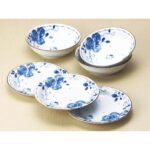 BEL HelloKitty Blue Rose Plate and Bowl Set