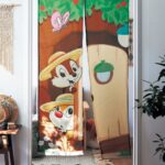 BEL Chip and Dale Shop curtain / Noren 85x180cm