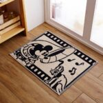 BEL 100% Cotton Towel Mat Mickey Mouse