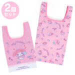 SRO Ecobag / Shopping Bag 2 size Set MyMelody (Heart Ballon)