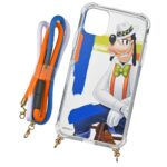 DSJ Goofy Style iPhone 11 Smartphone case with strap