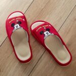 BEL Comfort Mesh Slippers Minnie Mouse (Red) / L size