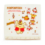 SRO PomPomPurin 25th Square Hand Towel (25×25cm)
