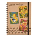 DSJ Donald Duck Birthday 2021 Ring Notebook