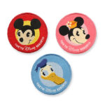 TDR Disney Handycraft 2021 Patch Set Mickey and Friends Circle