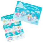 SRO Ice Friends Sanrio Characters Clear file set A4