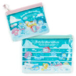 SRO Ice Friends Sanrio Characters Flat pouch set