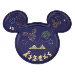 TDR Disney Fireworks 2021 Plate Mickey Mouse