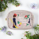 GHI Kiki's Delivery Service Natural Embroidery Series Mini Pouch
