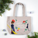 GHI Kiki's Delivery Service Natural Embroidery Series lunch Tote Bag