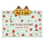 DSJ Calendar and Organizer 2022 Wall Calendar with Clip Chip and Dale