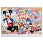 TDR Wall Calender 2022 Mickey and Friends