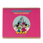 TDR Desk Calender 2022 Mickey and Friends Letro