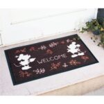 BEL Flower Language Doormat Mickey mouse and Minnie mouse (59×83 cm)