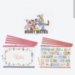 TDR Mickey and Friends Paper Place Mat Set