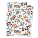 TDR HandiCraft Fabric Cloth Mickey and Friends White