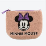 TDR Minnie Mouse Fluffy Pouch Pink