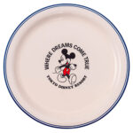 TDR Where Dreams Come True Plate 25cm Mickey Mouse