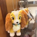 DSJ lady plush keychain