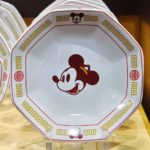 TDR Mickey Mouse Chinese Tableware Fried Rice Plate Octagon Plate
