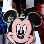 TDR Mickey Mouse Spangle Pass Case