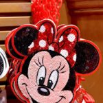 TDR Minnie Mouse Spangle Pass Case