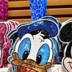 TDR Donald Duck Spangle Pass Case