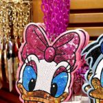 TDR Daisy Duck Spangle Pass Case