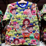 TDR All Over Plush Toy Pattern Toy Story T-shirt Japanese Adult Unisex S/M/L