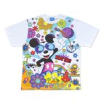 TDR WHAT FUN Mickey Mouse T-Shirts Japanese Adult Unisex LL